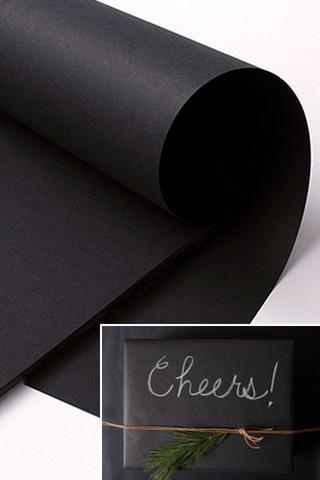 Ribbons Amp Wraps Gt Gt Wraps Gt Gt Chalkboard Paper Holstens